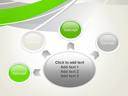 Abstract Curves PowerPoint Template Slide 7