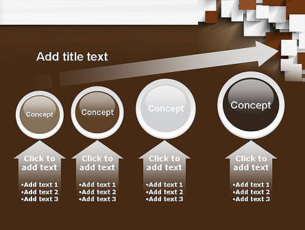 Overlapping Squares Concept PowerPoint Template Slide 13
