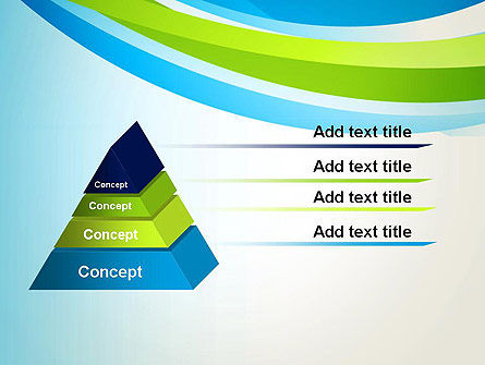 Green and Blue Curves PowerPoint Template Slide 12