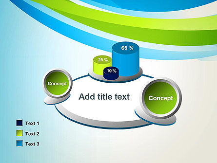 Green and Blue Curves PowerPoint Template Slide 16