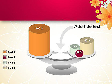 Abstract Origami Flower PowerPoint Template Slide 10