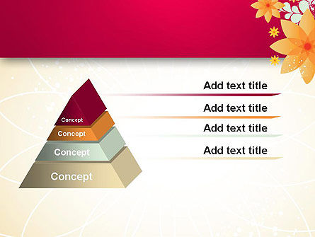 Abstract Origami Flower PowerPoint Template Slide 12