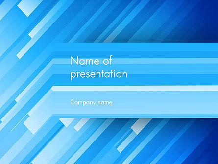 Abstract Stylized Rain PowerPoint Template, 13148, Abstract/Textures — PoweredTemplate.com