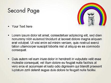 LGBT PowerPoint Template, Slide 2, 13149, 3D — PoweredTemplate.com