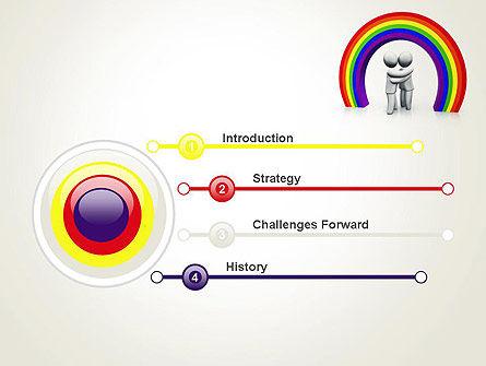 LGBT PowerPoint Template, Slide 3, 13149, 3D — PoweredTemplate.com