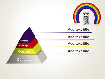 LGBT PowerPoint Template, Slide 4, 13149, 3D — PoweredTemplate.com