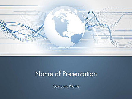 Next Generation Globe PowerPoint Template
