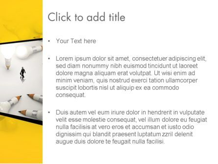 Finding Idea PowerPoint Template, Slide 3, 13152, Business Concepts — PoweredTemplate.com