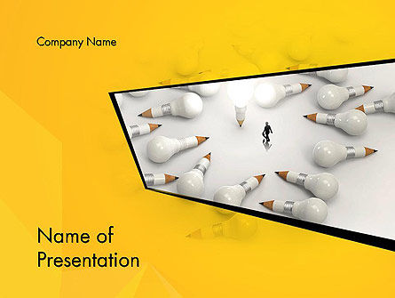 Finding Idea PowerPoint Template