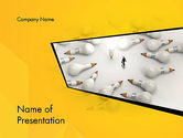 Business Concepts: Finding Idea PowerPoint Template #13152