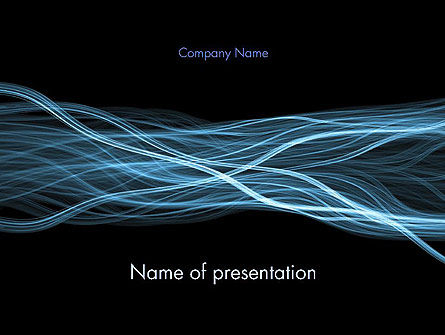 Abstract/Textures: Abstract Connections PowerPoint Template #13153