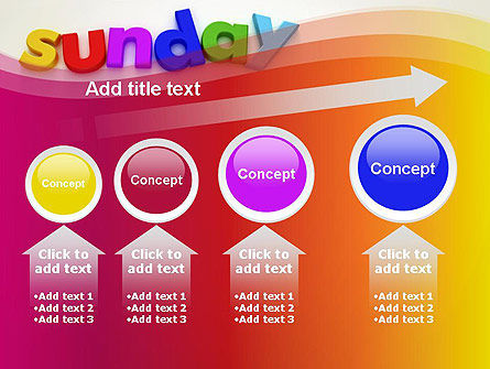 Sunday PowerPoint Template Slide 13