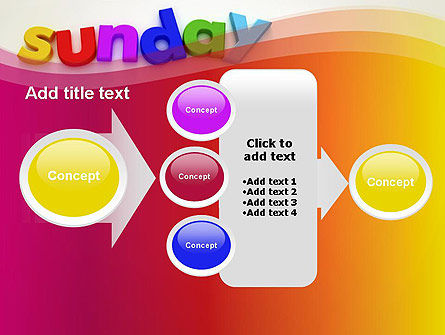 Sunday PowerPoint Template Slide 17
