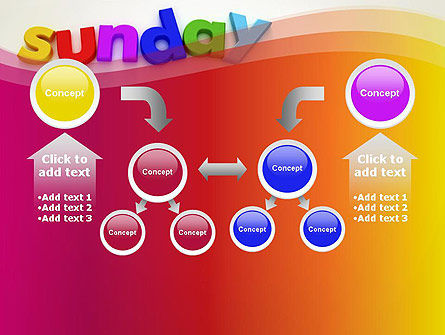 Sunday PowerPoint Template Slide 19