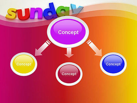 Sunday PowerPoint Template, Slide 4, 13156, Holiday/Special Occasion — PoweredTemplate.com