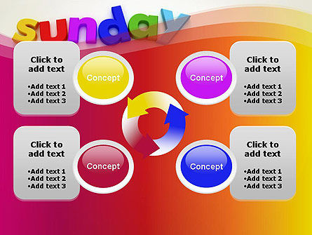 Sunday PowerPoint Template Slide 9