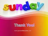 Sunday PowerPoint Template#20