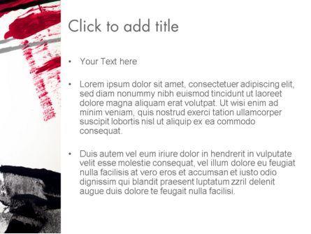 Abstract Art Page Border PowerPoint Template, Slide 3, 13157, Art & Entertainment — PoweredTemplate.com