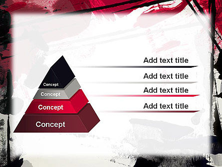 Abstract Art Page Border PowerPoint Template Slide 12