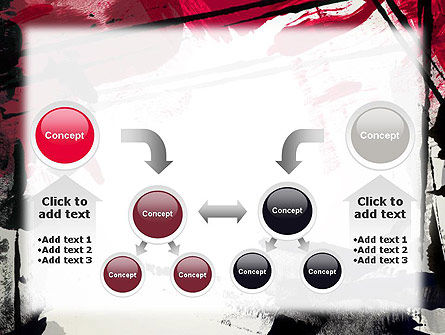 Abstract Art Page Border PowerPoint Template Slide 19