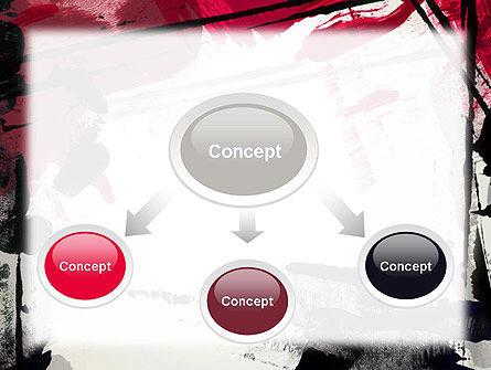 Abstract Art Page Border PowerPoint Template, Slide 4, 13157, Art & Entertainment — PoweredTemplate.com