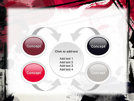Abstract Art Page Border PowerPoint Template Slide 6