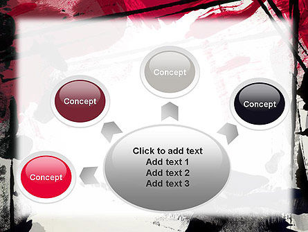 Abstract Art Page Border PowerPoint Template Slide 7