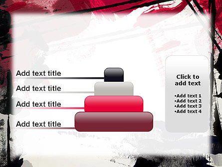 Abstract Art Page Border PowerPoint Template Slide 8