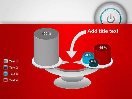Computer Power Button PowerPoint Template Slide 10
