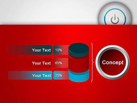 Computer Power Button PowerPoint Template Slide 11