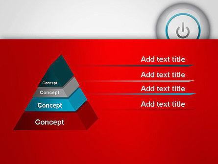 Computer Power Button PowerPoint Template Slide 12