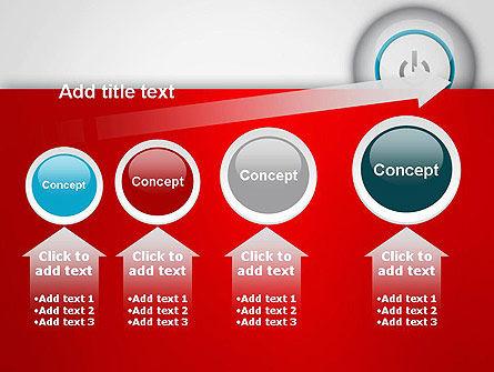 Computer Power Button PowerPoint Template Slide 13