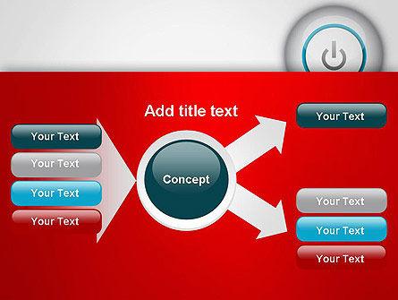 Computer Power Button PowerPoint Template Slide 14