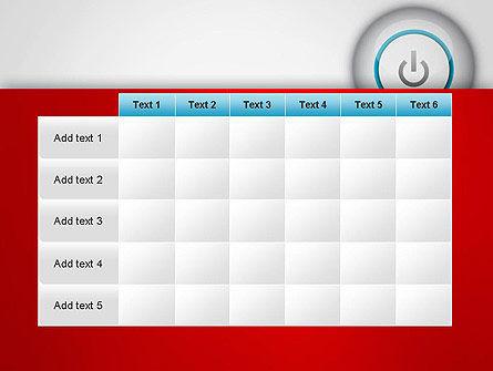 Computer Power Button PowerPoint Template Slide 15