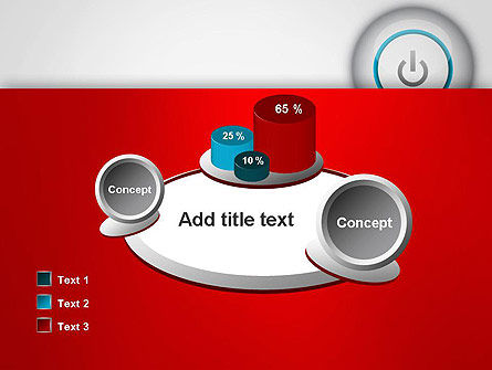 Computer Power Button PowerPoint Template Slide 16