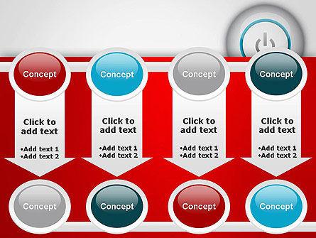 Computer Power Button PowerPoint Template Slide 18