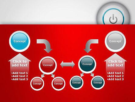 Computer Power Button PowerPoint Template Slide 19