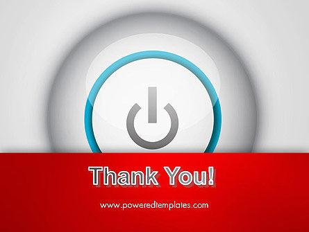 Computer Power Button PowerPoint Template Slide 20