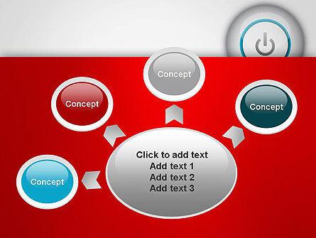Computer Power Button PowerPoint Template Slide 7