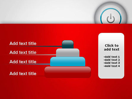 Computer Power Button PowerPoint Template Slide 8