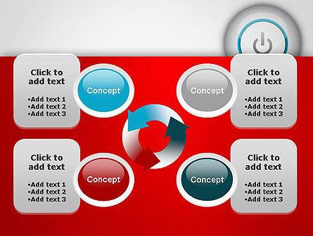 Computer Power Button PowerPoint Template Slide 9