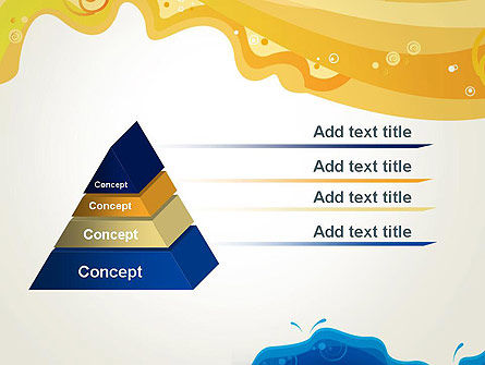 Yellow and Blue Painting PowerPoint Template Slide 12