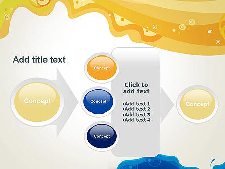 Yellow and Blue Painting PowerPoint Template Slide 17