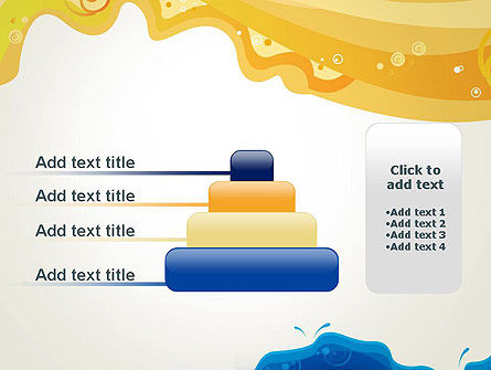 Yellow and Blue Painting PowerPoint Template Slide 8