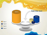 Yellow and Blue Painting PowerPoint Template#10