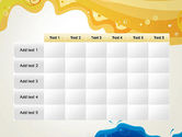 Yellow and Blue Painting PowerPoint Template#15