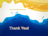 Yellow and Blue Painting PowerPoint Template#20