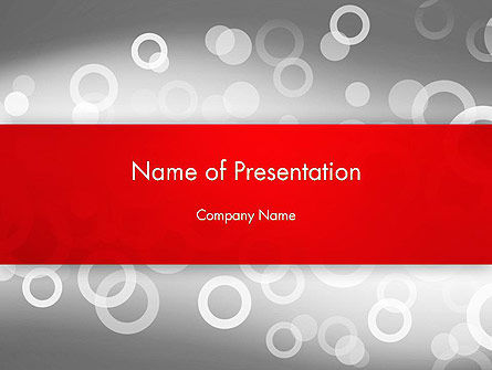 Abstract Dotted Gray PowerPoint Template, 13162, Abstract/Textures — PoweredTemplate.com