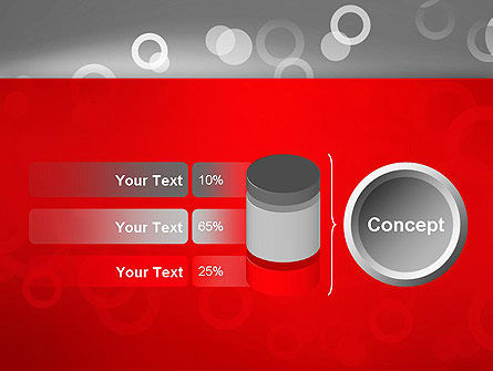 Abstract Dotted Gray PowerPoint Template Slide 11