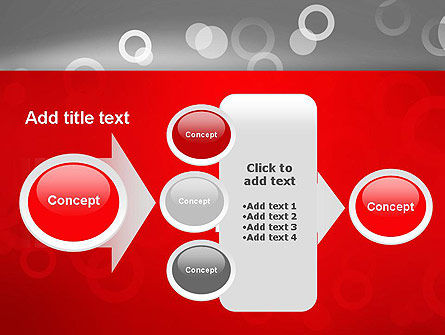 Abstract Dotted Gray PowerPoint Template Slide 17
